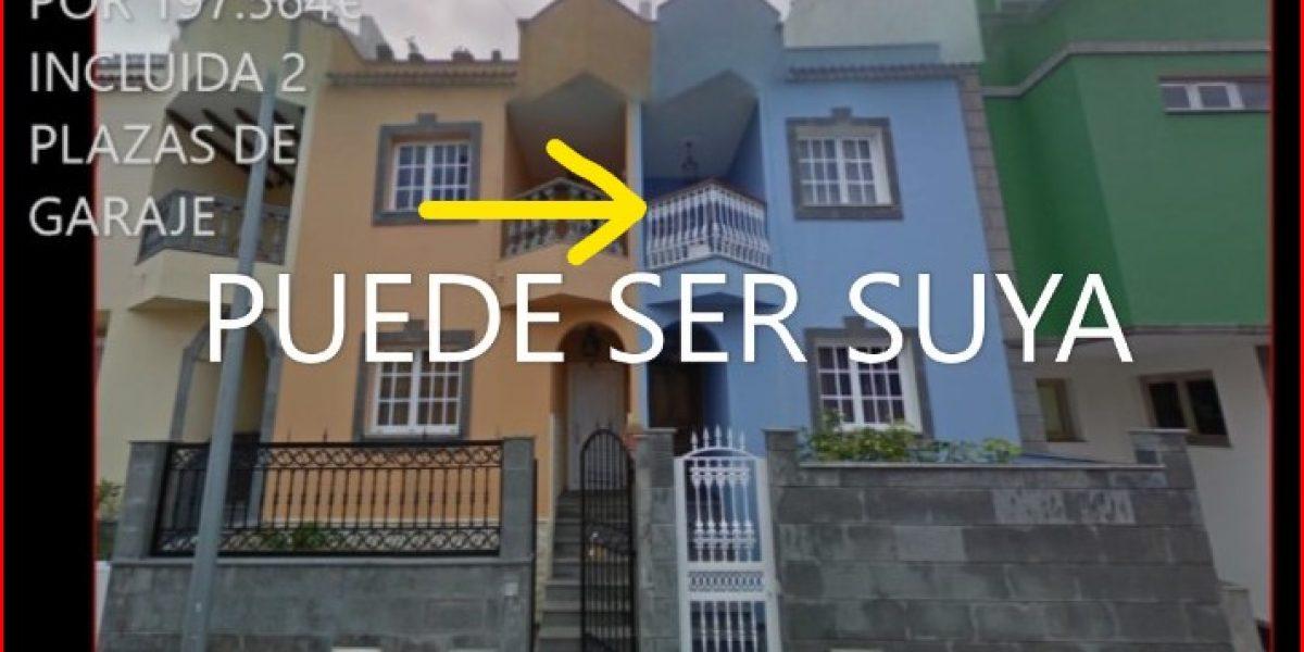 Venta de vivienda unifamiliar incluidas varias plazas de garaje en el centro de Moya